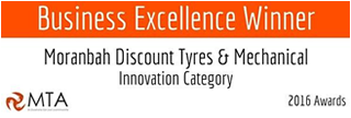 innovation winner 2017, Vehicles, Moranbah discount tyres, wheel alignments, auto electrics and mechanical services